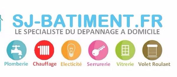 SJ-Batiment.fr | Le sp&eacute;cialiste du D&eacute;pannage &agrave; domicile <br /> Plomberie - Chauffage - &Eacute;lectricit&eacute; -Serrurerie - Vitrerie 24/24