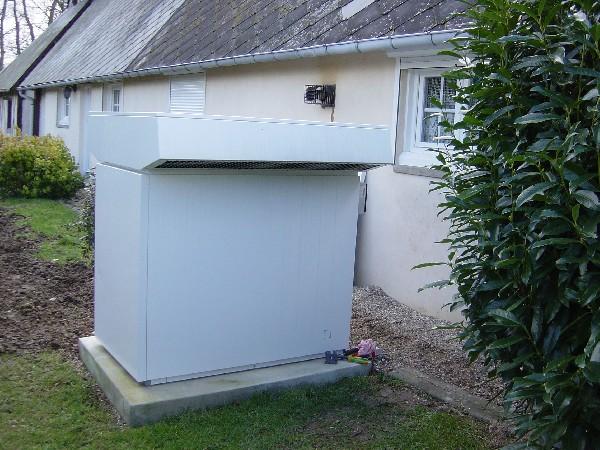 Installation d'une pompe à chaleur STIEBEL ELTRON (Croixmare 76190)