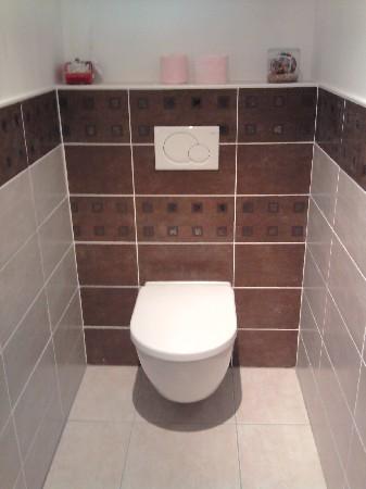 Pose d'un WC suspendu VILLEROY & BOCH / GEBERIT (Amfreville la Mivoie 76920)