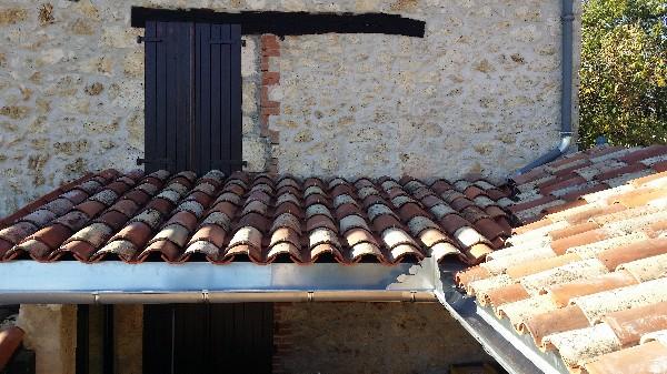 fin de la rénovation toiture
