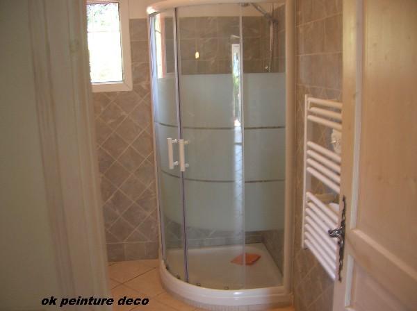 pose de cabine de douche